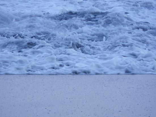 筆島海岸 波三態