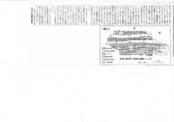 1338年(暦応元年)の元町溶岩流 急斜面 未曽有の降雨量(824mm/24h)がキーワード それに1594年(文禄3)の「びゃく」と1958年(昭和33)狩野川台風被害