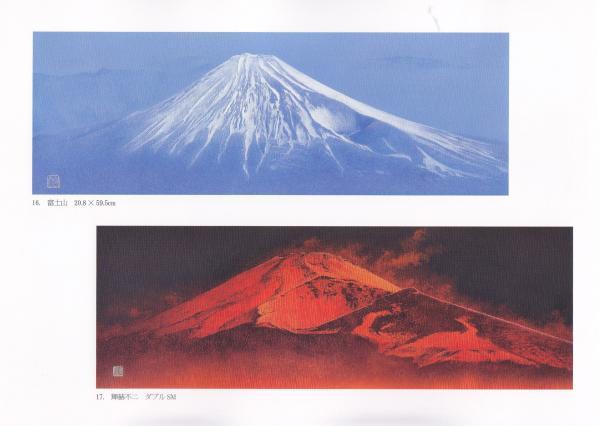 宝永噴火の第一火口 大島からもよく見えます