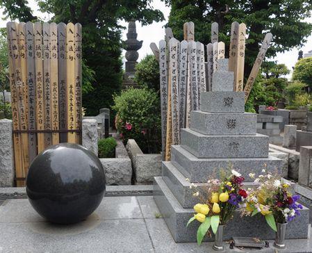 柴田錬三郎の墓