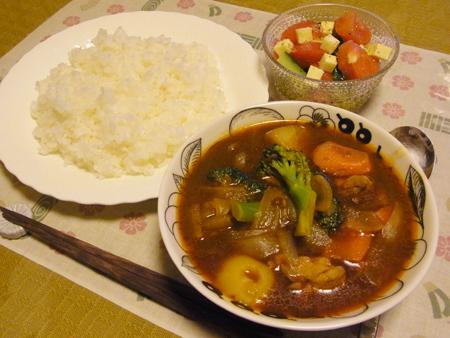 6スープカレー定食
