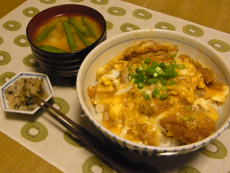 5カツ丼定食