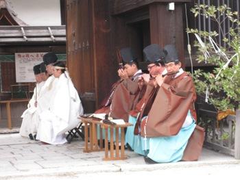 蛍火の茶会 奉告祭2