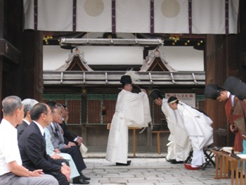 蛍火の茶会 奉告祭