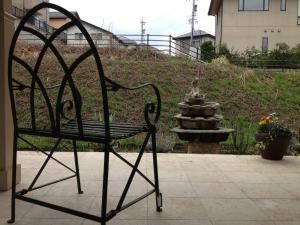 太陽玄関椅子