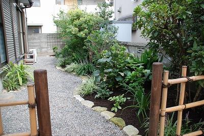 堆肥敷き込み