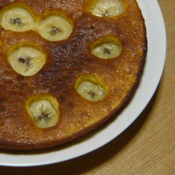 バナナホットケーキ 1個目