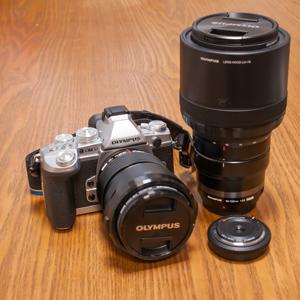 OM-D E-M1 と レンズ