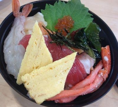くら寿司の海鮮丼