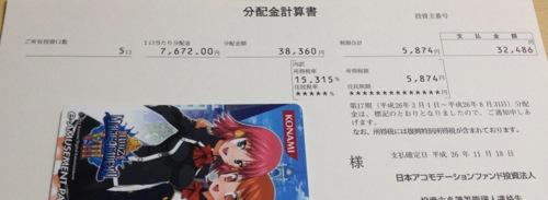 3226 日本アコモデーションファンド 分配金