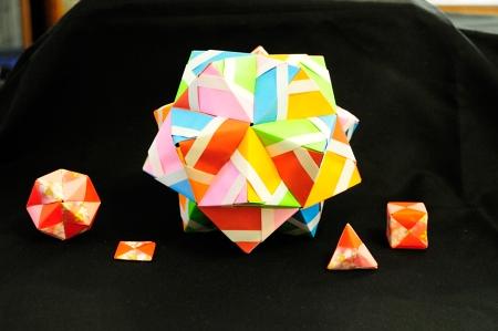 ユニット折り紙 (2)