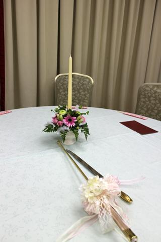 結婚披露パーティー - 会場装花