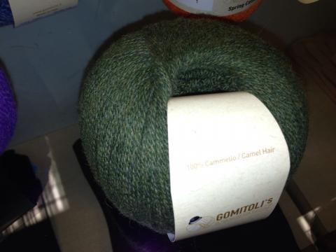 イタリア糸グリーン