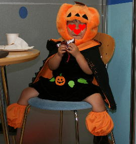 かぼちゃ人間