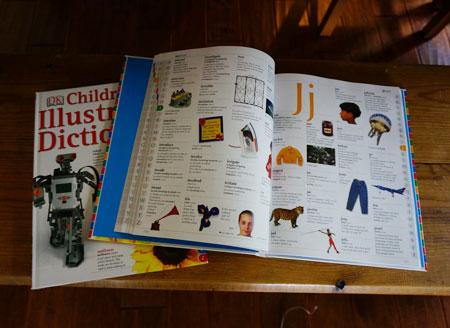 子供用の英語辞典