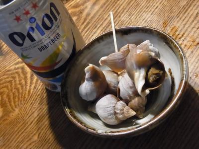 家飲み つぶ貝 (1)