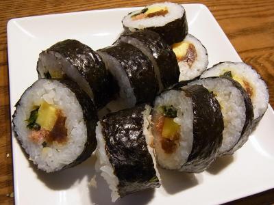太巻き寿司 (1)