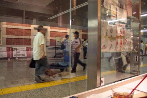 東京駅ブックカフェ (3)