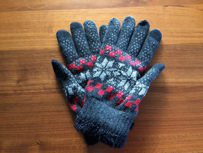 手袋今冬仕様