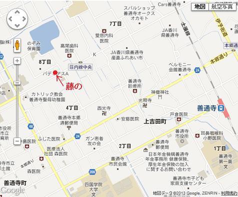 a藤の 地図