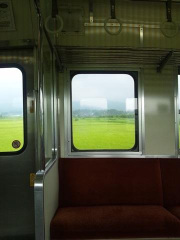 七尾線の車窓から 宝達~免田