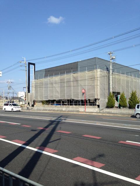 にぎり長次郎 高槻大塚店の跡地の工事_1