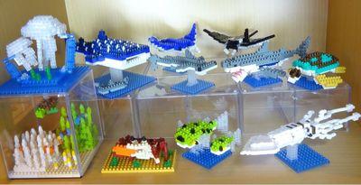 海の生き物シリーズ400