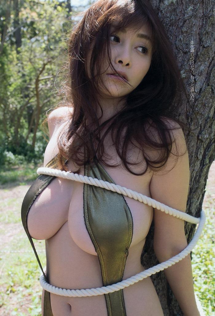 杉原杏璃 「淫欲ドライブ」 グラビア画像