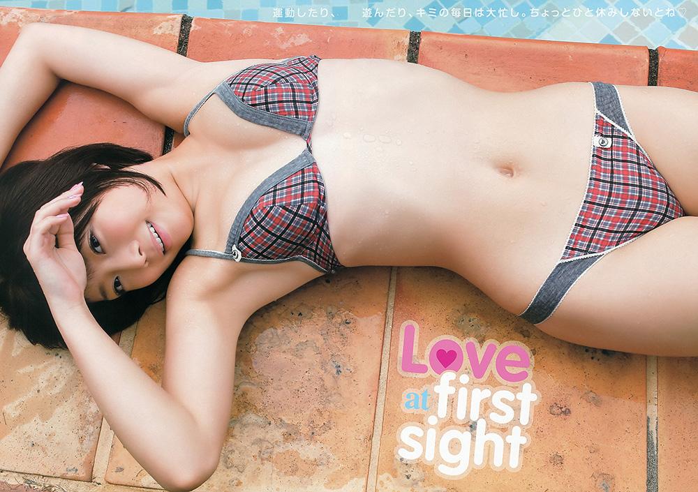 紗倉まな Love at first sight