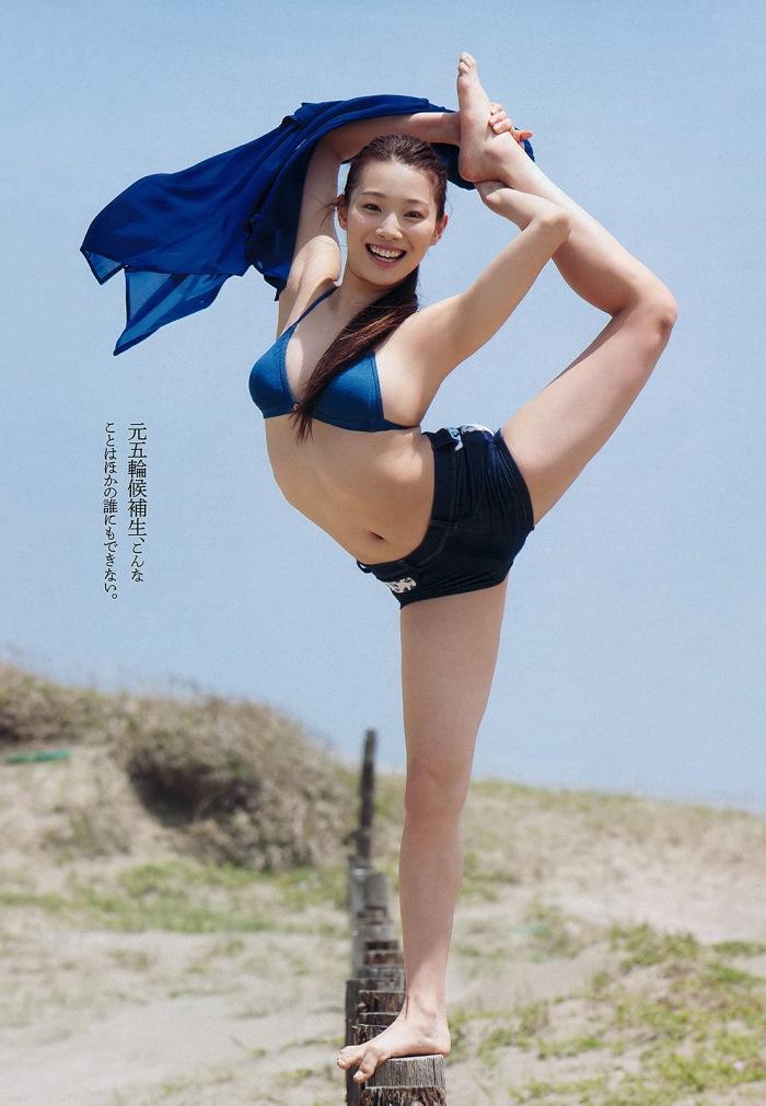 江田結香 「舞う二十歳」 グラビア画像