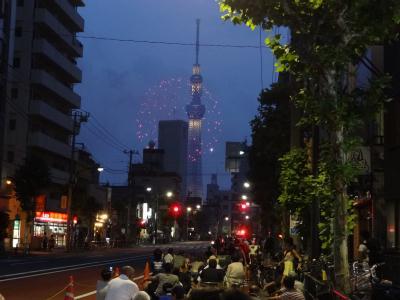 隅田川花火大会途中で中止!2013