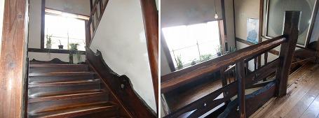 ホテル寿楽の階段 ①