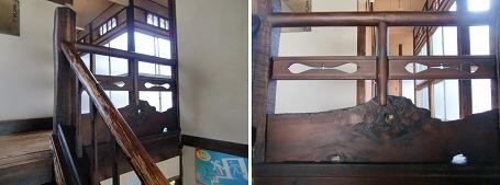 ホテル寿楽の階段 ②
