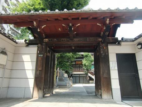 三ノ輪橋にある浄閑寺(投げ込み寺)