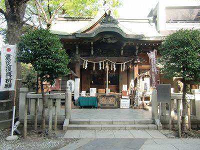 小野照崎神社 境内