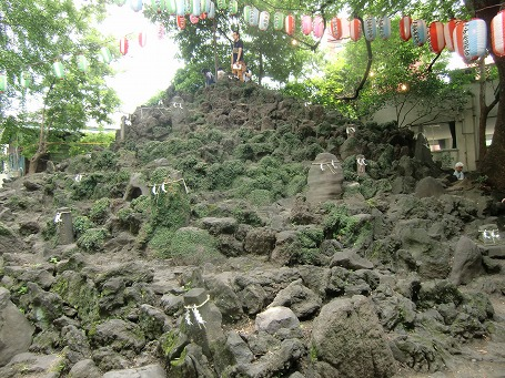 「下谷坂本富士」の全景