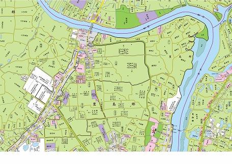 江戸時代の南千住周辺の古地図