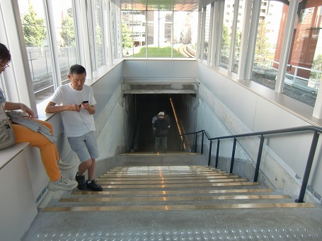 1935階段は昔の万世橋駅を彷彿させてくれる