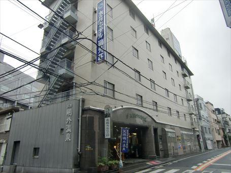 水月ホテル 鷗外荘 全景