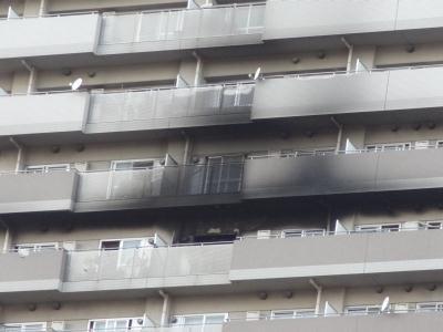 南千住4丁目の32階建て高層都営住宅で火事