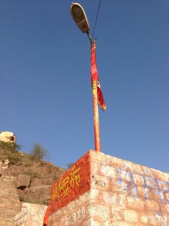 お寺への階段