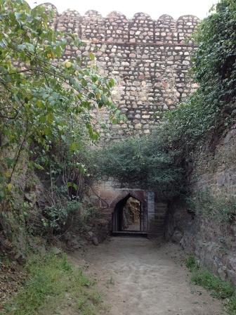 砦を外から3
