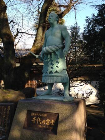 千代の富士銅像