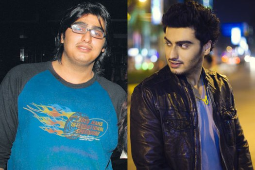 Arjun Kapoor Before and After