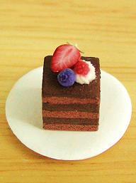 ベリーチョコレートケーキ 1