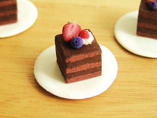 ベリーチョコレートケーキ 2
