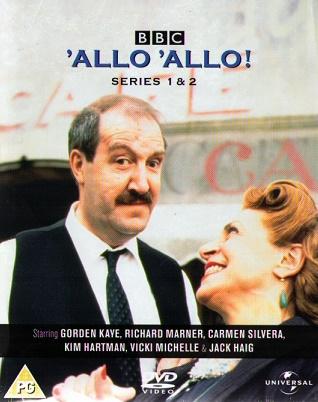Allo Allo DVD S1-2
