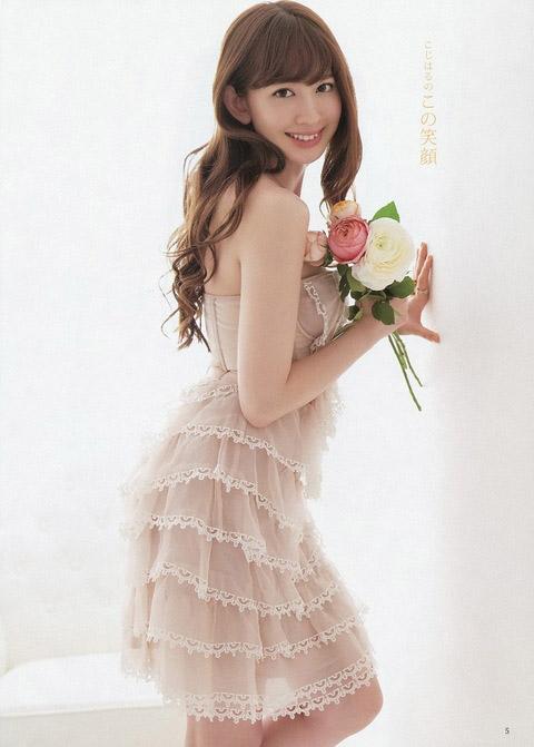 小嶋陽菜 エロい私服画像