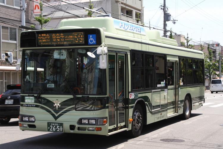 京都市バス2651