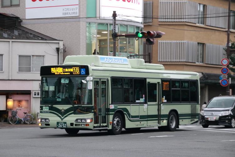京都市バス2652